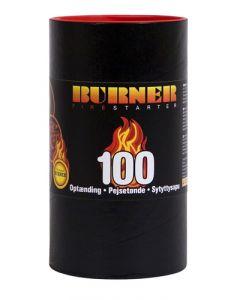 Burner Pejsetønde - 100 stk.