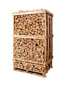 Lufttørret brænde af ask - Ekstra tørretid er nødvendigt før brug
