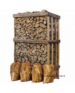 Hardwood Mix - Brænde i brændetårn + 4 ps optænding