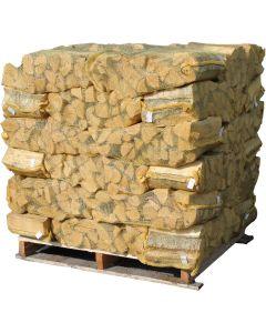 Ovntørret Brænde af birk i netsække