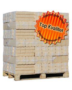 Fågelfors træbriketter - 1050 kg Svensk kvalitet