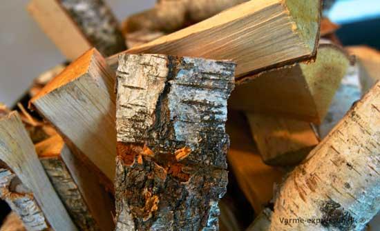 varmebehandlet brænde giver et rent produkt næsten uden svampesporer